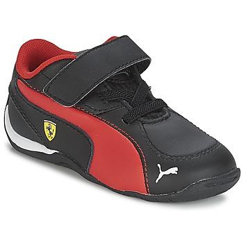 Sapatos Rapaz Sapatilhas Puma DRIFT CAT 5 L SF V KIDS Preto / Vermelho