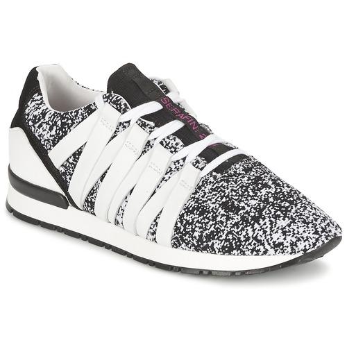 Sapatos Mulher Sapatilhas Serafini MIAMI Preto / Branco