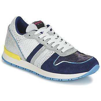 Sapatos Mulher Sapatilhas Serafini LOS ANGELES Azul / Branco