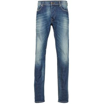 Textil Homem Calças de ganga slim Diesel TEPPHAR Azul