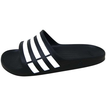 Sapatos Sandálias desportivas adidas Performance Duramo Slide Noir / Blanc / Noir