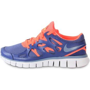 Sapatos Mulher Sapatilhas Nike Free Run 2 Ext Blue Legend Bleu/Orange