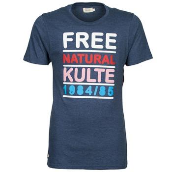Textil Homem T-Shirt mangas curtas Kulte AUGUSTE FREE Azul