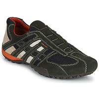 Sapatos Homem Sapatilhas Geox SNAKE Cinza
