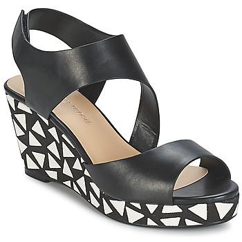Sapatos Mulher Sandálias Moony Mood EPALINE Preto