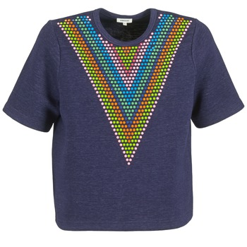 Textil Mulher Sweats Manoush DOUDOU STAR Marinho