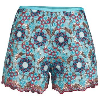 Textil Mulher Shorts / Bermudas Manoush FRESQUE Azul