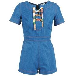 Textil Mulher Macacões/ Jardineiras Manoush LACET Azul / Ganga