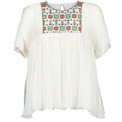 Textil Mulher Tops / Blusas Manoush POINT DE CROIX Cru