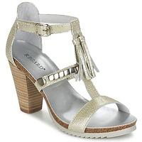 Sapatos Mulher Sandálias Regard ROKOLO Platina