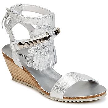 Sapatos Mulher Sandálias Regard RUKO Prateado