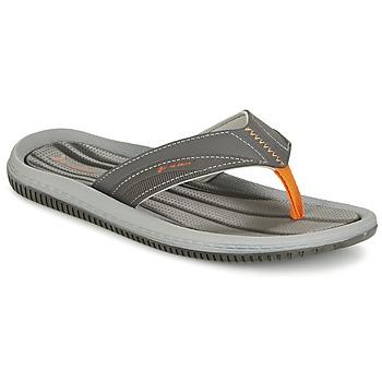 Sapatos Homem Chinelos Rider DUNAS XI Cinza / Laranja