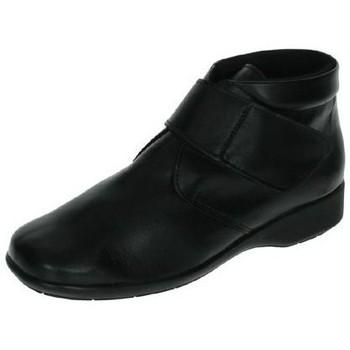 Sapatos Mulher Botas baixas Dliro  Preto