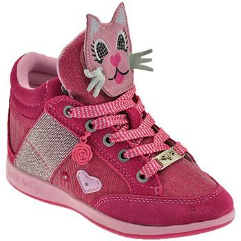 Sapatos Criança Sapatilhas de cano-alto Lelli Kelly Gattino Rosa