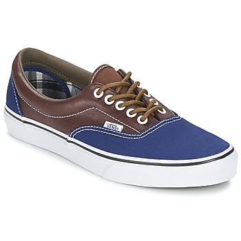 Sapatos Homem Sapatilhas Vans ERA Marinho / Castanho