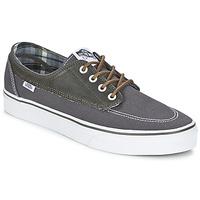 Sapatos Homem Sapatilhas Vans BRIGATA Cinza / Cáqui