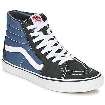 Sapatos Sapatilhas de cano-alto Vans SK8-HI Marinho / Preto