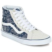 Sapatos Sapatilhas de cano-alto Vans SK8-HI REISSUE Bandana / Azul / Branco