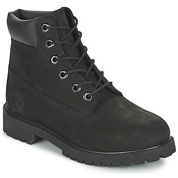 Sapatos Criança Botas baixas Timberland 6 IN PREMIUM WP BOOT Preto