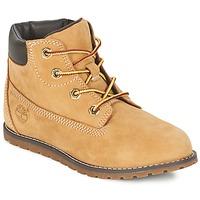 Sapatos Criança Botas baixas Timberland POKEY PINE 6IN BOOT WITH Trigo