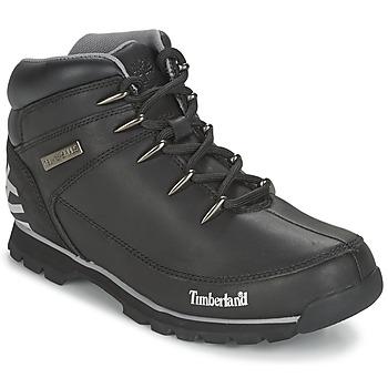 Sapatos Homem Botas baixas Timberland EURO SPRINT HIKER Preto / Refletivo