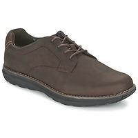 Sapatos Homem Sapatos Timberland BARRETT PT OXFORD Castanho / Escuro