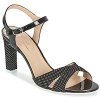 Sapatos Mulher Sandálias France Mode ZEN Preto