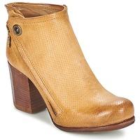 Sapatos Mulher Botins Airstep / A.S.98 SOURCE Camel / Claro