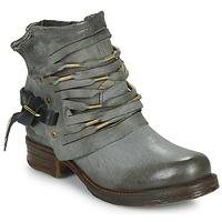 Sapatos Mulher Botas baixas Airstep / A.S.98 SAINT Preto / Fumo
