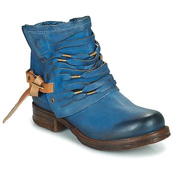 Sapatos Mulher Botas baixas Airstep / A.S.98 SAINT Azul / Pato