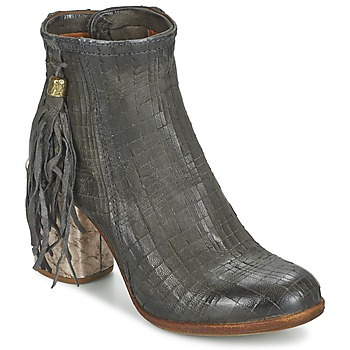 Sapatos Mulher Botins Airstep / A.S.98 ODELL Preto / Fumo