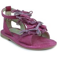 Sapatos Rapariga Sandálias Oca Loca OCA LOCA VALENCIA TRICOLOR FUXIA