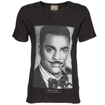Textil Homem T-Shirt mangas curtas Eleven Paris MARLTON M Preto