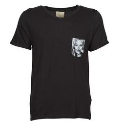 Textil Homem T-Shirt mangas curtas Eleven Paris KMPOCK Preto