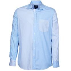 Textil Homem Camisas mangas comprida Hackett GORDON Azul