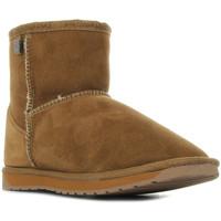 Sapatos Mulher Botas baixas EMU Platinum Stinger Mini Castanho