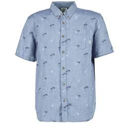 Textil Homem Camisas mangas curtas Vans HOUSER SS Azul