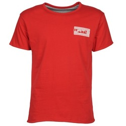 Textil Homem T-Shirt mangas curtas Wati B WATI CREW Vermelho