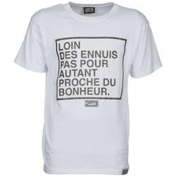 Textil Homem T-Shirt mangas curtas Wati B LOIN Branco