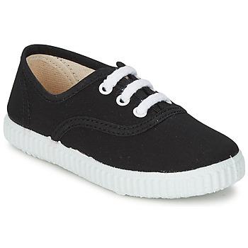 Sapatos Criança Sapatilhas Citrouille et Compagnie KIPPI BOU Preto