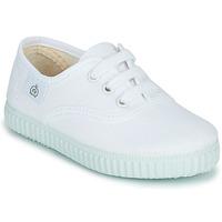 Sapatos Criança Sapatilhas Citrouille et Compagnie KIPPI BOU Branco