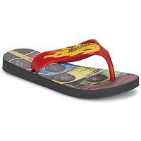 Sapatos Rapaz Chinelos Ipanema HOT WHEELS TYRE Vermelho / Preto