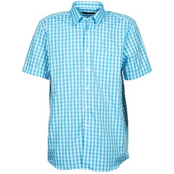 Textil Homem Camisas mangas curtas Pierre Cardin 539236202-140 Azul