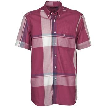 Textil Homem Camisas mangas curtas Pierre Cardin 538536226-860 Malva / Violeta