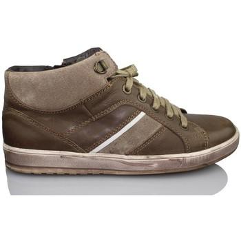 Sapatos Rapaz Sapatilhas de cano-alto Acebo's APEL CASUAL MARRON