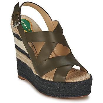 Sapatos Mulher Sandálias Etro 3948 Castanho