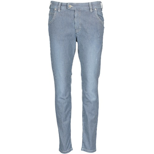 Textil Mulher Calças Jeans Marc O'Polo LAUREL Azul / Branco