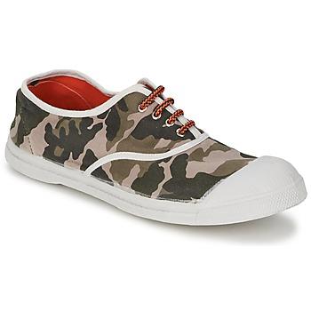 Sapatos Mulher Sapatilhas Bensimon TENNIS CAMOFLUO Camuflagem