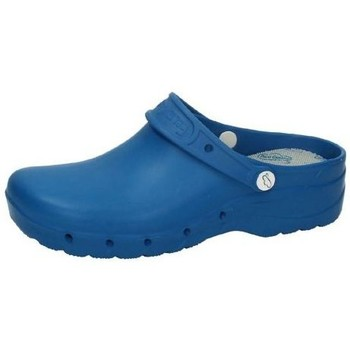 Sapatos Homem Tamancos Feliz Caminar  Azul