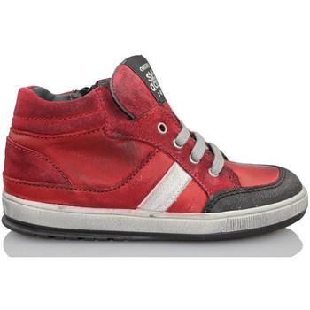 Sapatos Criança Sapatilhas de cano-alto Acebo's KIDS BOY ROJO